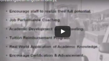 Creation of a Learning Community (video) – Part 2 of 3